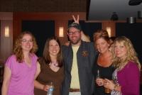 Jen, Sarah, Joe (the bunny), Kelly R, and Kelly O