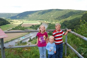 Looking over the Altmühl Valley