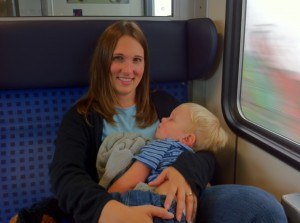 Henry falls asleep on the train from Munich to Ingolstadt