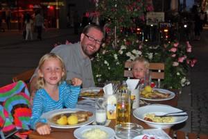 Dinner in Munich