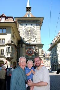 With Grandpa in Bern